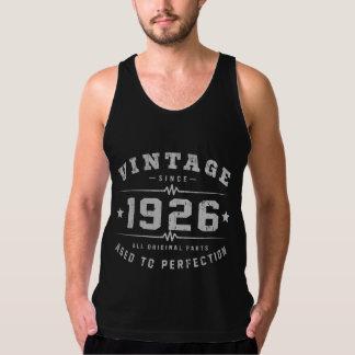 Camiseta De Tirantes Cumpleaños del vintage 1926