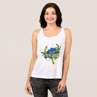 Camiseta De Tirantes Danza para el carnaval de la vida