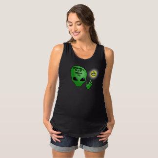 Camiseta De Tirantes De Premamá Luz extranjera