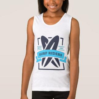 Camiseta De Tirantes Descargador BASIC Muchacha Surf