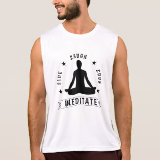 Camiseta De Tirantes El amor vivo de la risa Meditate el texto