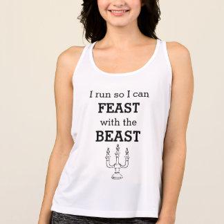 Camiseta De Tirantes El banquete tiene gusto de una bestia