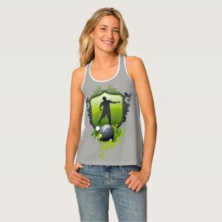 Camiseta De Tirantes El fútbol gobierna el regalo del deporte del |