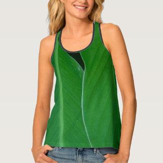 Camiseta De Tirantes El lirio de canna verde sale de la foto