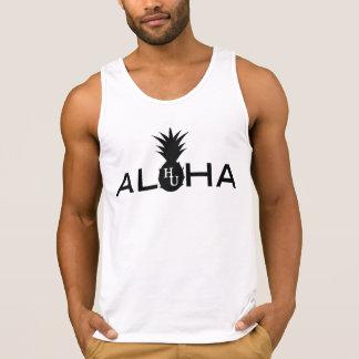 Camiseta De Tirantes El tanque de los hombres de la hawaiana
