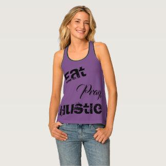 Camiseta De Tirantes El tanque de Racerback de las mujeres - coma,