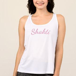 Camiseta De Tirantes El tanque femenino del entrenamiento de la yoga de