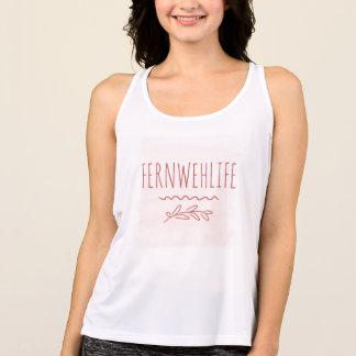 Camiseta De Tirantes El tanque para mujer de Fernweh Racerback