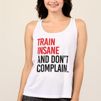 Camiseta De Tirantes El tren insano y no se queja