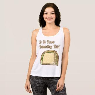 Camiseta De Tirantes El vintage es él Taco martes todavía