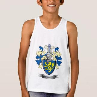 Camiseta De Tirantes Escudo de armas del escudo de la familia de