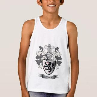 Camiseta De Tirantes Escudo de armas del escudo de la familia de Owen