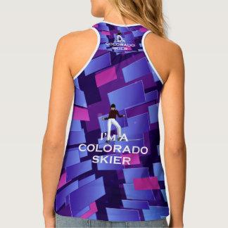 Camiseta De Tirantes Esquiador SUPERIOR de Colorado