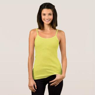 Camiseta De Tirantes Estilo: Bella de las mujeres+El tanque T del
