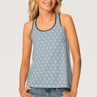 Camiseta De Tirantes Estrellas retras apacibles del punto de Bonnie