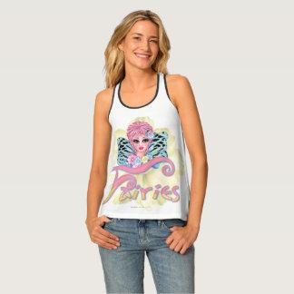 Camiseta De Tirantes FAIRIE AZUL 2 por todo la impresión