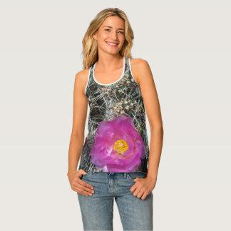 Camiseta De Tirantes Flor del cactus en la floración
