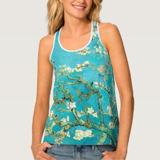 Camiseta De Tirantes Flores de la almendra de Van Gogh