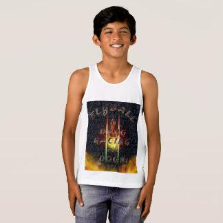 Camiseta De Tirantes Flyball Flamz: ¡Fricción que compite con para los