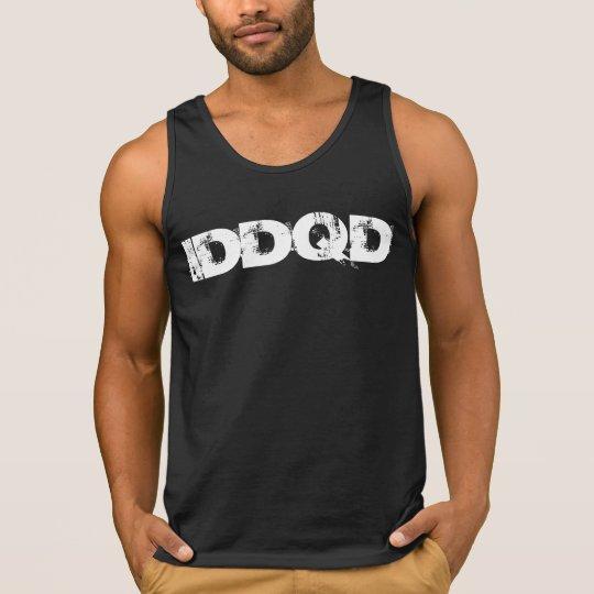 Camiseta De Tirantes IDDQD Font White