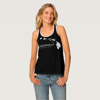 Camiseta De Tirantes Islas de Hawaii de la hawaiana y el practicar surf