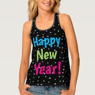 Camiseta De Tirantes La noche de la Feliz Año Nuevo protagoniza diseño