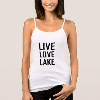 Camiseta De Tirantes Lago vivo love