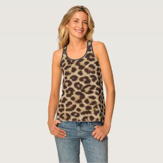 Camiseta De Tirantes Leopardo