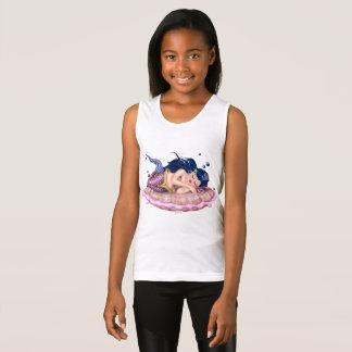 Camiseta De Tirantes Los chicas del DIBUJO ANIMADO del MAR de la SIRENA