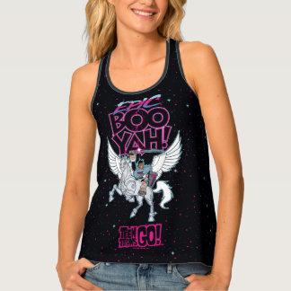Camiseta De Tirantes ¡Los titanes adolescentes van! Cyborg del guerrero