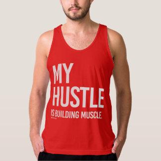 Camiseta De Tirantes Mi prisa está construyendo el músculo