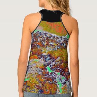 Camiseta De Tirantes Montaña del arco iris