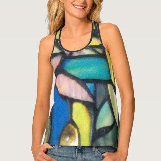 Camiseta De Tirantes Mosaico de Tiffany