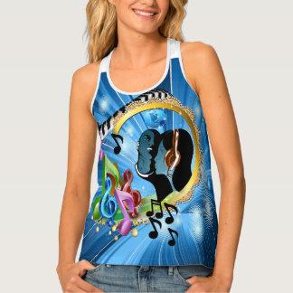 Camiseta De Tirantes Música para el alma