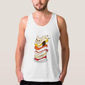 Camiseta De Tirantes Noche japonesa del sushi para el dogo francés