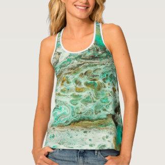 Camiseta De Tirantes Ondas tropicales