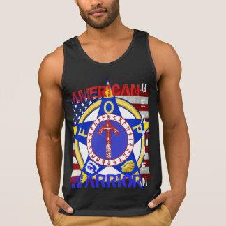 Camiseta De Tirantes Pagano americano--Policía