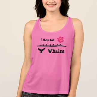 Camiseta De Tirantes Pare para el tanque de las ballenas