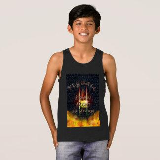 Camiseta De Tirantes ¡Perro del hierro de Flamz Flyball - 10 años de
