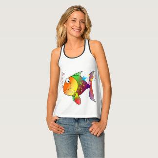 Camiseta De Tirantes Pescados de atún del Océano Pacífico del
