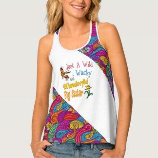 Camiseta De Tirantes Regalos maravillosos raros salvajes de la hermana