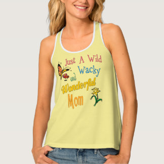 Camiseta De Tirantes Regalos maravillosos raros salvajes de la mamá