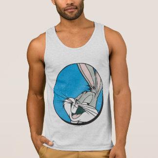 Camiseta De Tirantes Remiendo azul retro del ™ de BUGS BUNNY