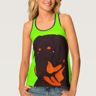 Camiseta De Tirantes Rottweiler