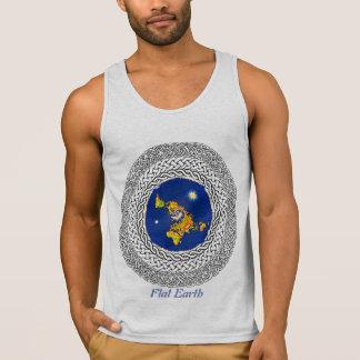 Camiseta De Tirantes Salmo plano 37 de la tierra