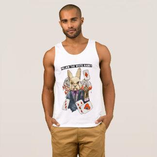 Camiseta De Tirantes siga el conejo blanco