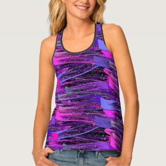 Camiseta De Tirantes Sombra en colores pastel rústica de los