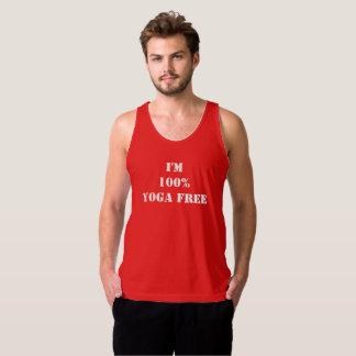 Camiseta De Tirantes Soy la yoga 100% libre