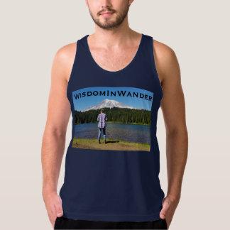 Camiseta De Tirantes Su y el Monte Rainier
