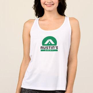 Camiseta De Tirantes Tanque del deporte de la balanza de las mujeres
